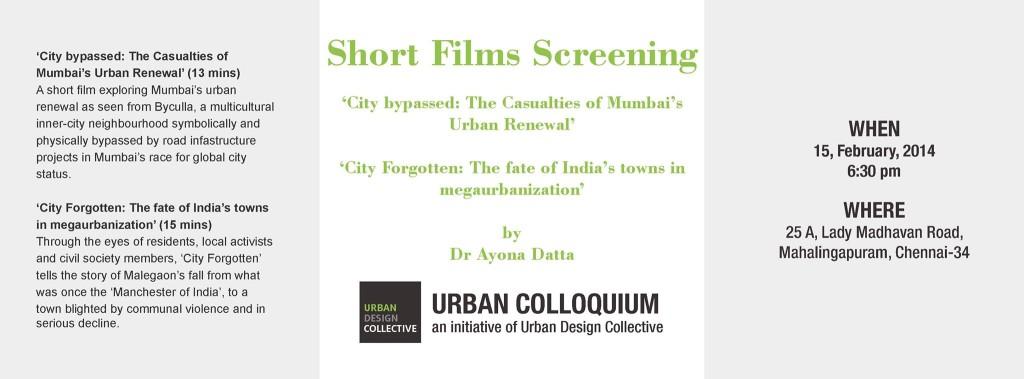 Urban Colloquium_01 poster